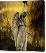Friend Of An Angel Canvas Print