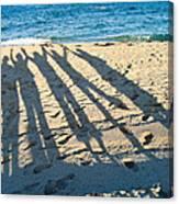 Friends At The Beach Canvas Print