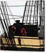Friendship Of Salem Rigging Canvas Print