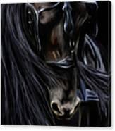 Friesian Spirit Canvas Print