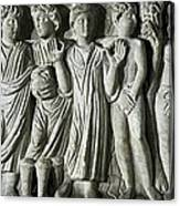 Frieze. Constatines Period. 4th C. The Canvas Print