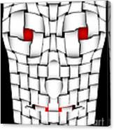 Frightening Mask Canvas Print