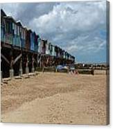 Frinton-on-sea Essex Uk Canvas Print