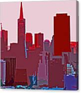 Frisco Skyline Canvas Print