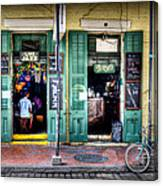Fritzels Bar On Bourbon Street Canvas Print