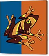 Frog 01 Canvas Print