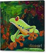 Frog Heaven Canvas Print