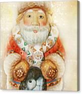 frohe Weihnachten Canvas Print