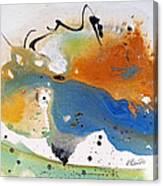 Frolic Canvas Print