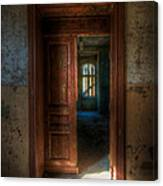 From A Door To A Window Canvas Print