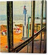 From Cape Henry Lighthouse Canvas Print