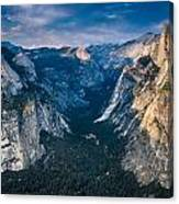 From Glacier Point Canvas Print
