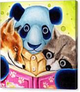 From Okin The Panda Illustration 10 Canvas Print