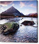 From River To Bauchaille Canvas Print