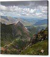 From Snowdon's Summit Canvas Print