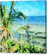 From The Boardwalk Canvas Print