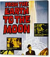 From The Earth To The Moon, Us Poster Canvas Print