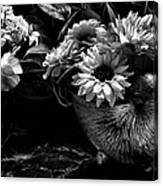 From The Garden Canvas Print