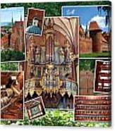 Frombork Montage Canvas Print