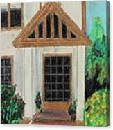 Front Door 1 Canvas Print