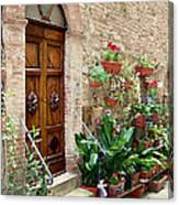 Front Door Canvas Print