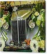 Front Of '36 Packard Canvas Print
