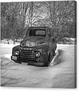 Front Of Old Timer Canvas Print