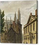 Front Of Trinity Hall, Cambridge Canvas Print