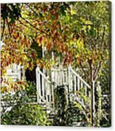 Front Porch Color Canvas Print