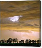 Front Row Seat For The Storm Canvas Print