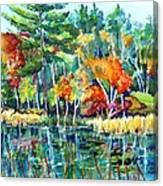 Frontenac Park Canvas Print