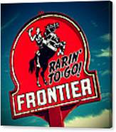 Frontier Land Canvas Print