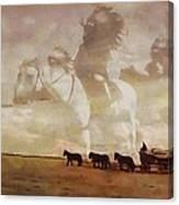 Frontier Spirit Canvas Print