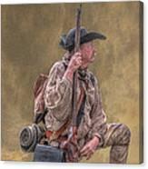 Frontiersman Golden Morning Canvas Print