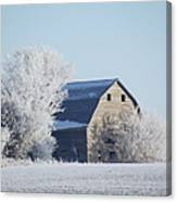 Frost Farm Canvas Print