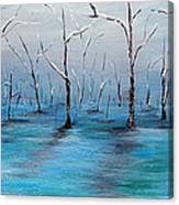 Frost Like Ashes Canvas Print