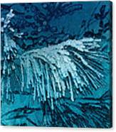 Frost Needles 2 Canvas Print
