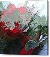 Frosted Hibiscus 2 Canvas Print