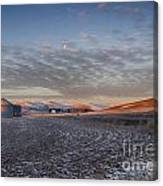 Frosted Palouse Canvas Print