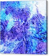 Frosted Window Abstract I   Canvas Print