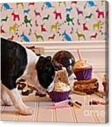 Frosting Feast Canvas Print