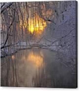 Frosty Morn 2 Canvas Print