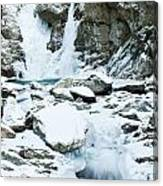 Frozen Bash Bish Falls Canvas Print