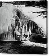Frozen Basin Canvas Print