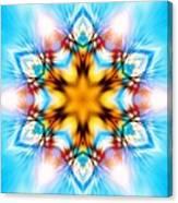 Frozen Clarity Canvas Print