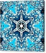 Frozen Divinity Canvas Print