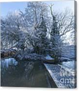 Frozen Iseland Canvas Print