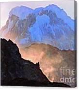 Frozen - Torres Del Paine National Park Canvas Print