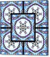 Frozen Orbweaver Page Canvas Print