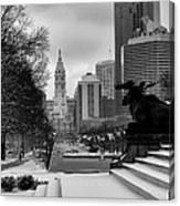 Frozen Philadelphia Canvas Print